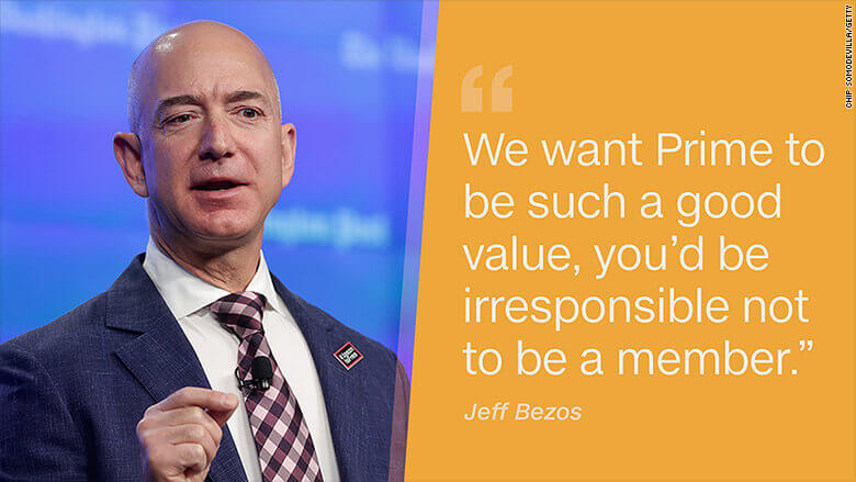 Bezos on value creation
