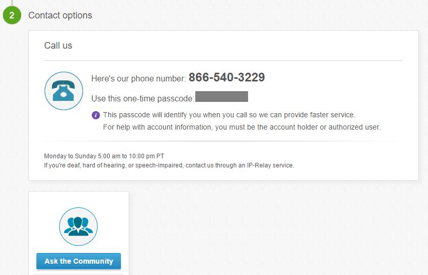 eBay Customer service phone Number