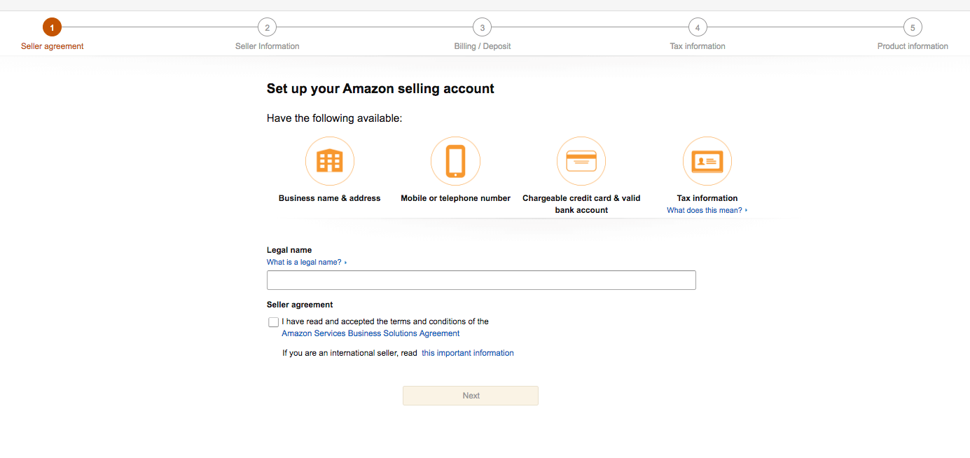 how to sell on amazon details